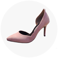 *�α�* serena pumps heel (3-colors)