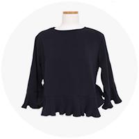 *�α�* ����J blouse (2-colors)